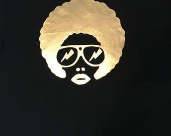 T-shirt.... Afro t-shirt