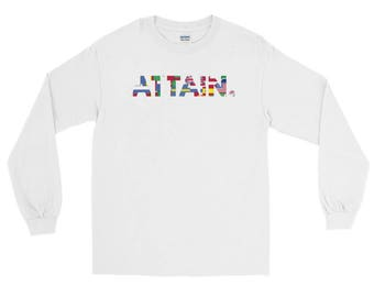 ATTAIN. - Everybody Long Sleeve T-Shirt