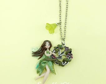 Fatina/fairy in fimo polymer clay