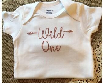First Birthday Baby Girl Onsie