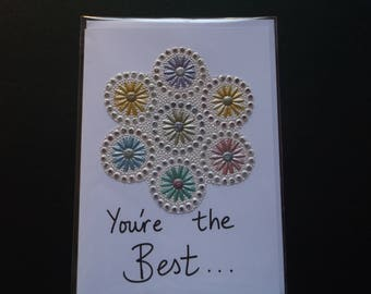 Handmade card - You're the Best