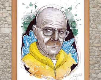 Walter 'Heisenberg' White (Breaking Bad) Artprint