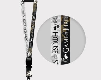 Game of Thrones  House Stark Lanyards