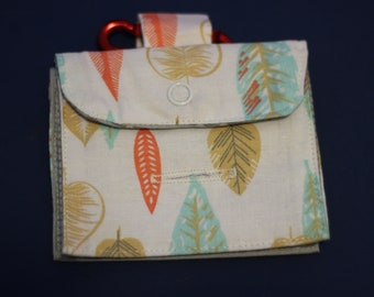Summer leaves Treat and Poo Bags bag