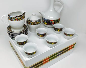 Ethiopian Coffee Cups Tilt Edition 1 A set of 16 with Tilt