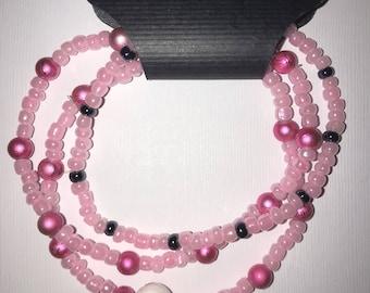 Breast cancer bracelet sets