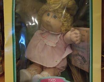 1985 Vintage Cabbage Patch Kid.