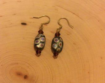 Mosaic Glass Earrings