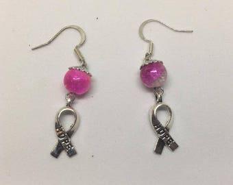 Breast Cancer Hope Earrings