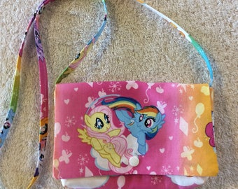 My Little Pony-Rainbow Dash Children's Over the Shoulder Purse