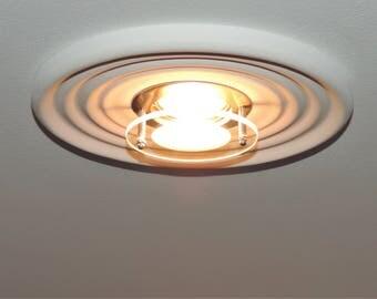 Elegant Plaster Recessed downlight lamp  20,5 x 20,5 cm