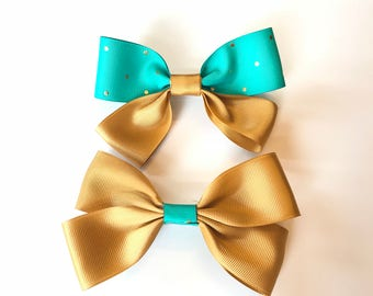 Your Golden Hair Bow