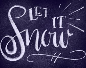 Let It Snow Digital Download