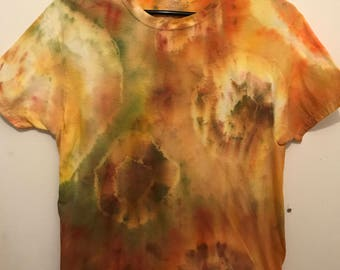 Abstract tie dye shirt [m]