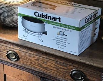 Cuisinart Countertop Electric Fondue Set
