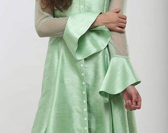 Mint green kurti