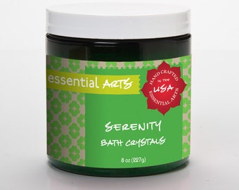 Serenity Aromatherapy Bath Crystals
