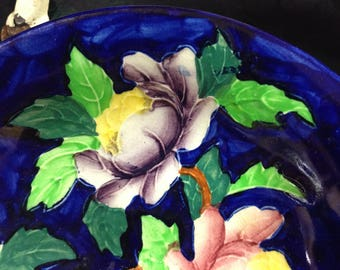 Hand painted Maling Bon Bon dish. Mini TAZZA