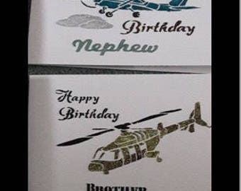 Mens Made To Order Birthday Card