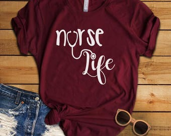 Nurse Life T-Shirt (short sleeve)