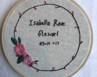 Bespoke embroidery hoops