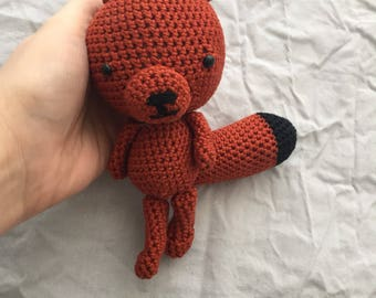 Crochet Fox Fux Faux