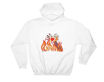 Lovely Fire Hoodie