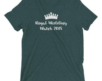 Royal Wedding Shirts, Royal Wedding Watch 2018 Shirt, Royal Wedding Party, Unisex Shirt,