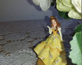 Beauty and the Beast Belle Trinket box
