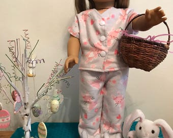 American Girl Easter pjs