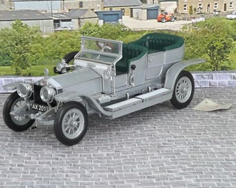 Franklin Mint 1907 Rolls-Royce Silver Ghost 1:24 Diecast very good condition boxed