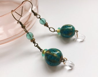 Glass Rivers earrings