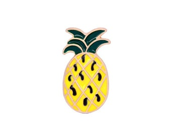 Tropical pineapple badges