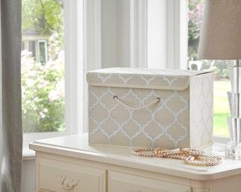 Silver Swan Storage Box