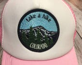 """Toddler/Kids Girl's Trucker Hat- Pink with """"Ta..."""