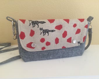The Hipster Bag- A Modern Fannie Pack- Foxes