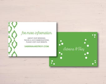 Bohemian Additional Information Cards