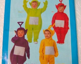 telletubbies costume pattern butterick p430 uncut sewing pattern teletubbies infant halloween costume pattern - Baby Halloween Costume Patterns