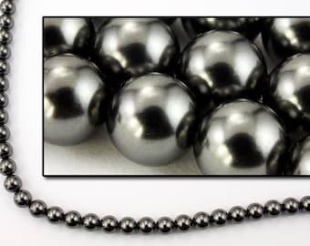 Swarovski 5810 3mm Black Pearl