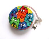 Retractable Tape Measure Rainbow Cats Measuring Tape