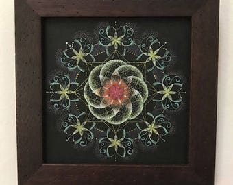 Stipple Mandala - Invigorating