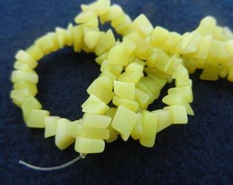 semi-precious chip beads butterscotch color 1 16inch str.17661