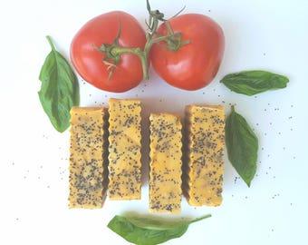 Gardener's Soap, Handmade Soap, Natural Soap, Vegan Soap, Simple Soap, Natural Colorant Soap, Bar Soap, Shower Soap, Essential Oil Soap