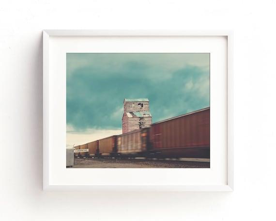"""Train Spotting"" - fine art photography"