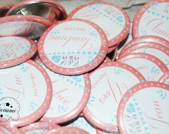 Badges / Wedding guest gift