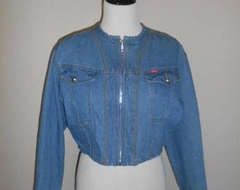 Closing shop SALE 40% off Womens Vintage Jean Jacket vintage denim jacket