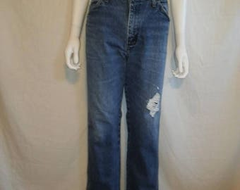Closing Shop 40%off SALE Wrangler Jeans W 33.5  Waist, high waisted waist Jeans Wrangler