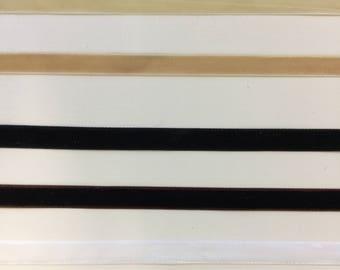 "Whole Sale 3/8"" Velvet Ribbon 10 Yards"