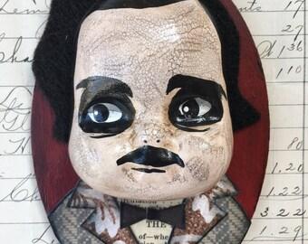 Little Edgar Allan Poe ornament