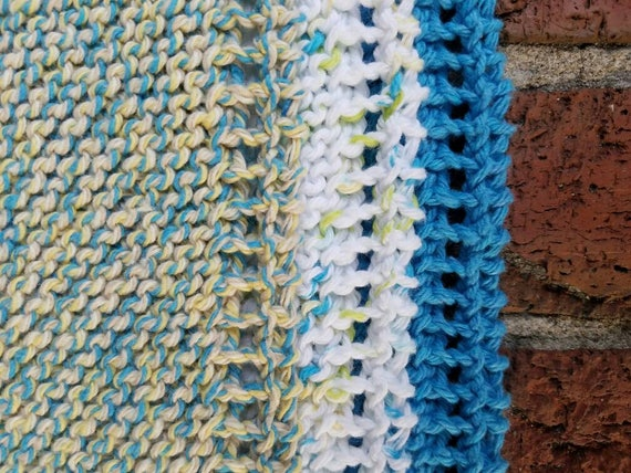 Boardwalk Dishcloth Trio